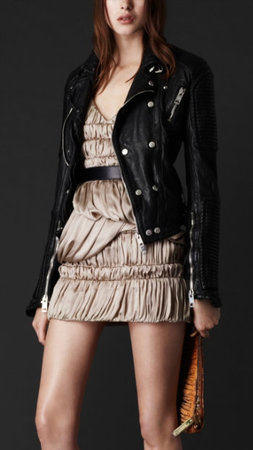 The Burberry Biker…