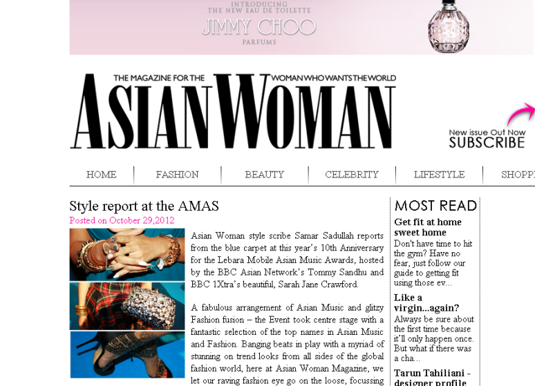 Asian Woman Style Report...
